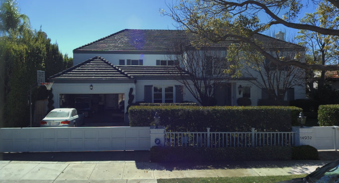 The current Aloni residence (Pacific Palisades)