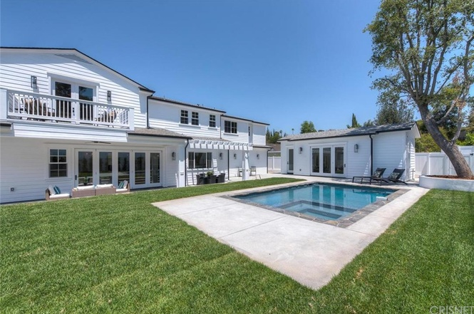 Michelle Beadle house in  Encino, Los Angeles