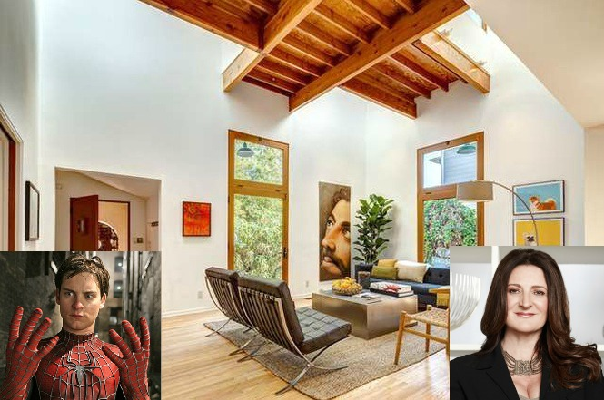 Million Dollar Decorator Kathryn Ireland Buys Tobey Maguire S Santa Monica Micro Compound Dirt