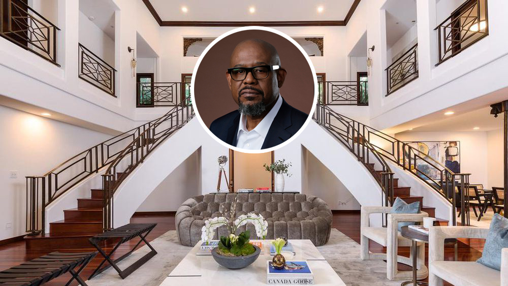 Forest Whitaker House Hollywood Hills