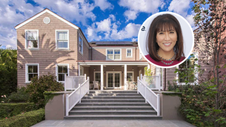 Janice Min House Brentwood