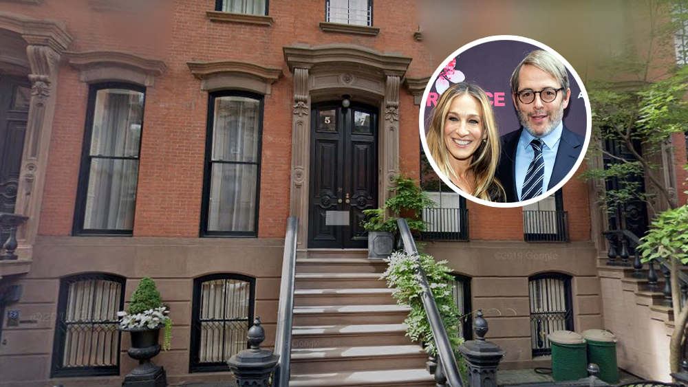 Sarah Jessica Parker Matthre Broderick House New York City