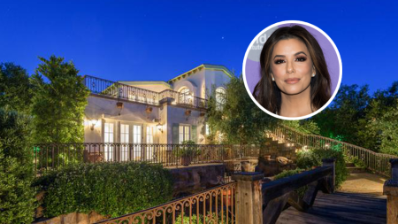 Eva Longoria House Hollywood Hills