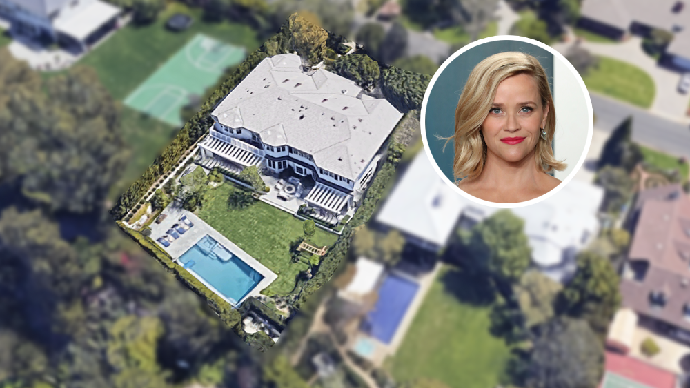 Reese Witherspoon House Pacific Palisades