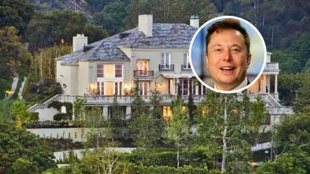 Elon Musk House Los Angeles