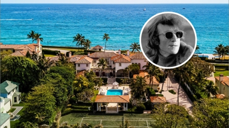 John Lennon Palm Beach Mansion