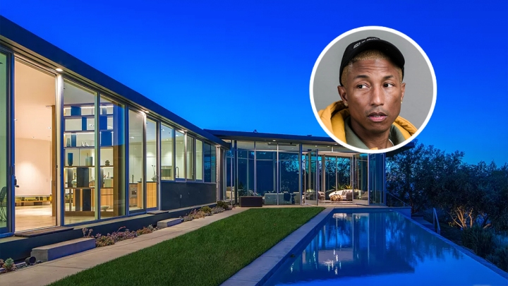 Pharrell Hollywood Hills House
