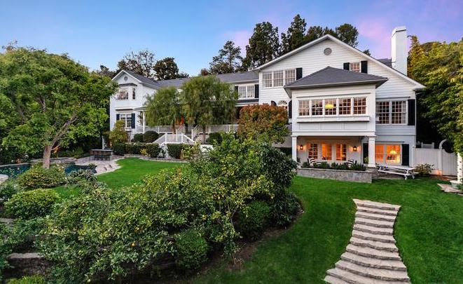 Ashton Kutcher Mila Kunis House Beverly Hills