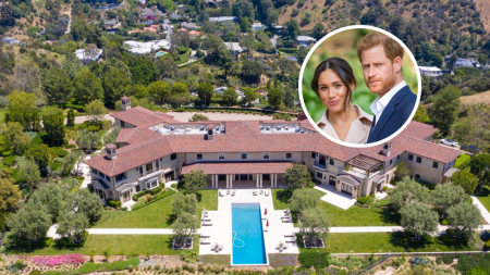 Meghan Markle Prince Harry House Beverly Hills