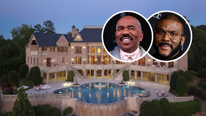 Steve Harvey Buys Tyler Perry Home