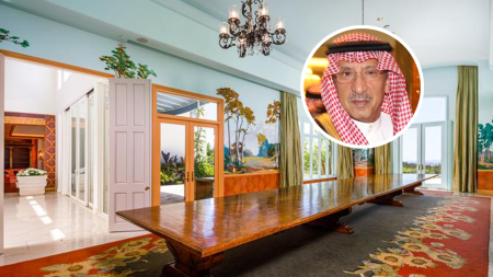 Turki bin Nasser House Beverly Hills