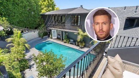 Calvin Harris House Hollywood Hills