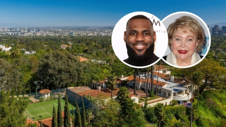 LeBron James House Beverly Hills