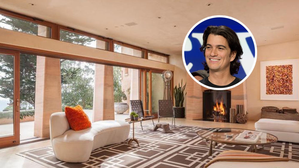 Adam Neumann House Bay Area