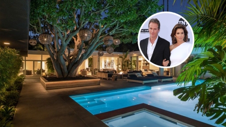 Cindy Crawford Beverly Hills House