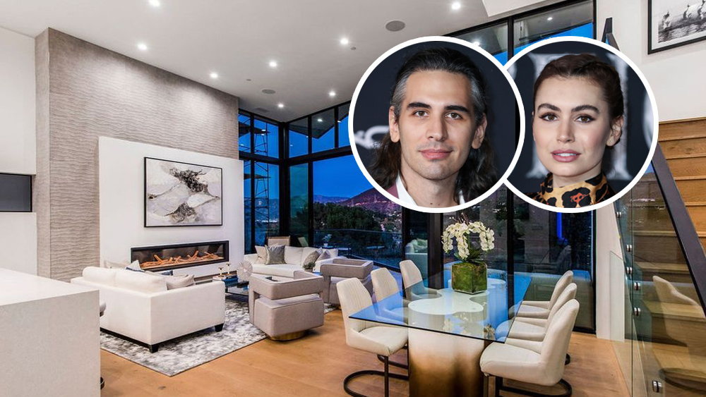 Nick and Sophie Simmons House Hollywood Hills