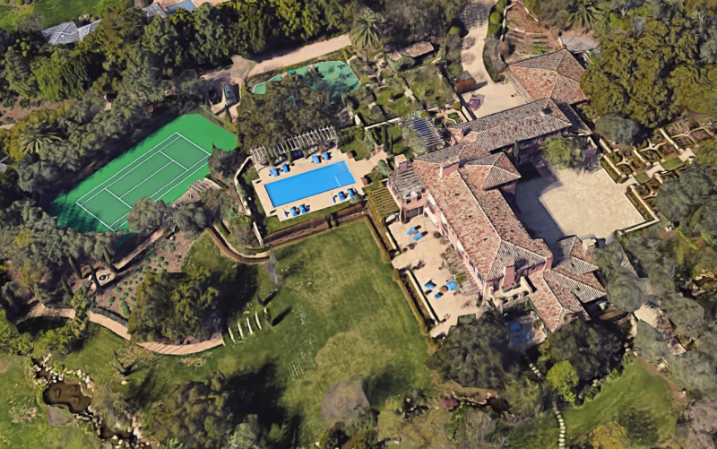 inside meghan and harry s 14 7 million montecito mansion dirt montecito mansion dirt