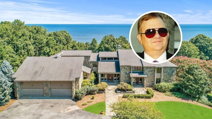 Tom Clancy Chesapeake Mansion