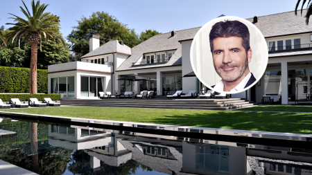 Simon Cowell House Beverly Hills
