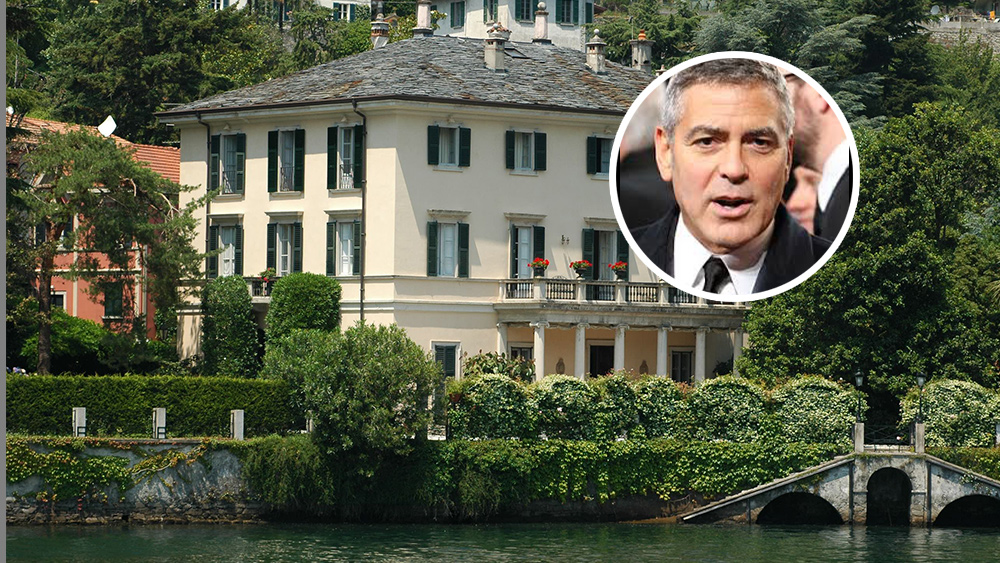 George Clooney's Lake Como Home