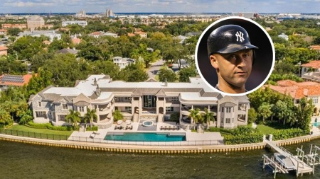 Derek Jeter Tampa Mansion