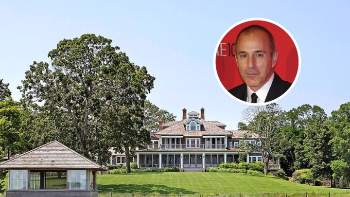 Matt Lauer North Haven Mansion
