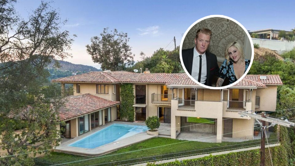 Hard Rockers Brody Dalle and Josh Homme List Hollywood Hills Home
