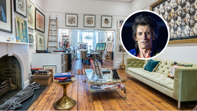 Ronnie Wood London Townhouse