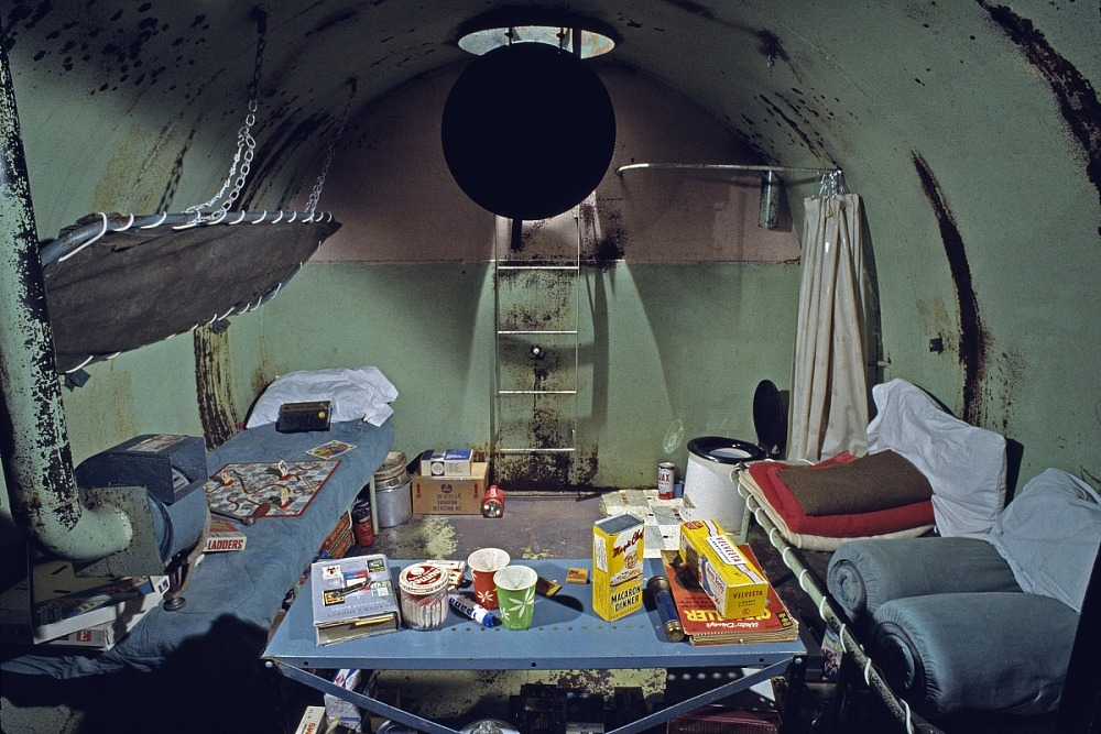 1950s Family Fallout Shelter